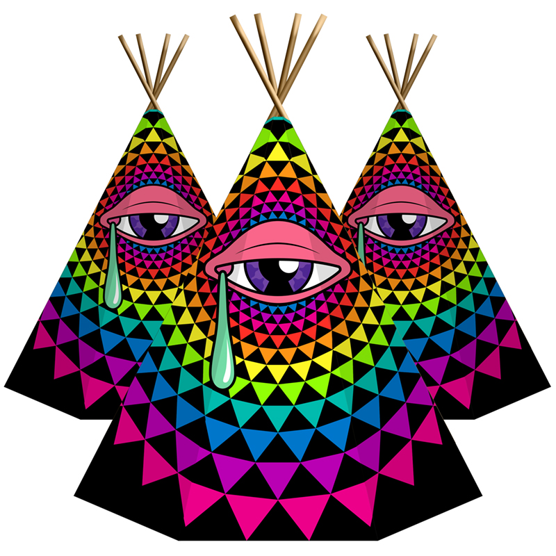 Sun Diamond Radiance Eye Tee Pee's