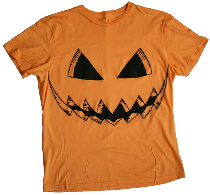 Pumpkin Carved Face Tee