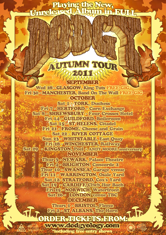 Dodgy Autumn Tour 2011