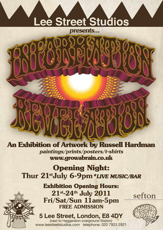 Information Revelation flyer back