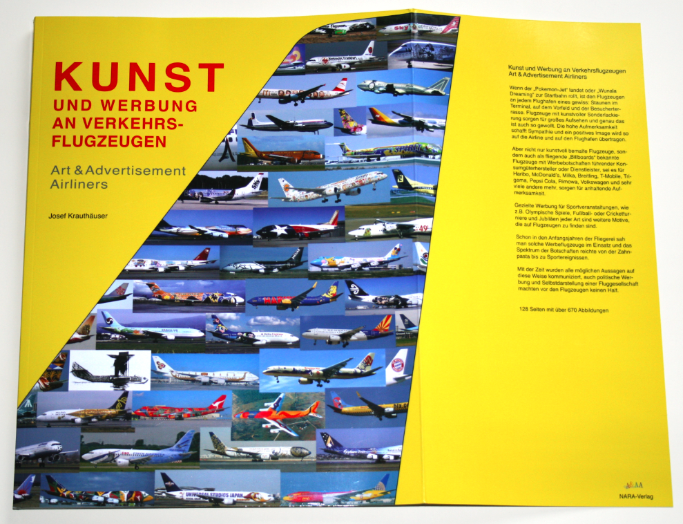 Art & Airliners - Book Jacket