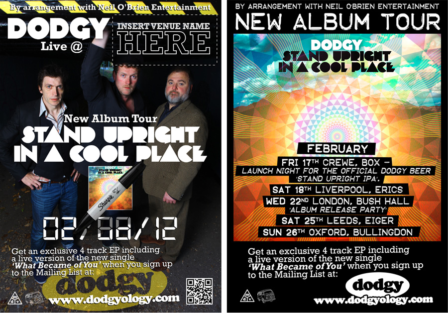 Generic Poster (editable) February 2012 Album Launch Tour