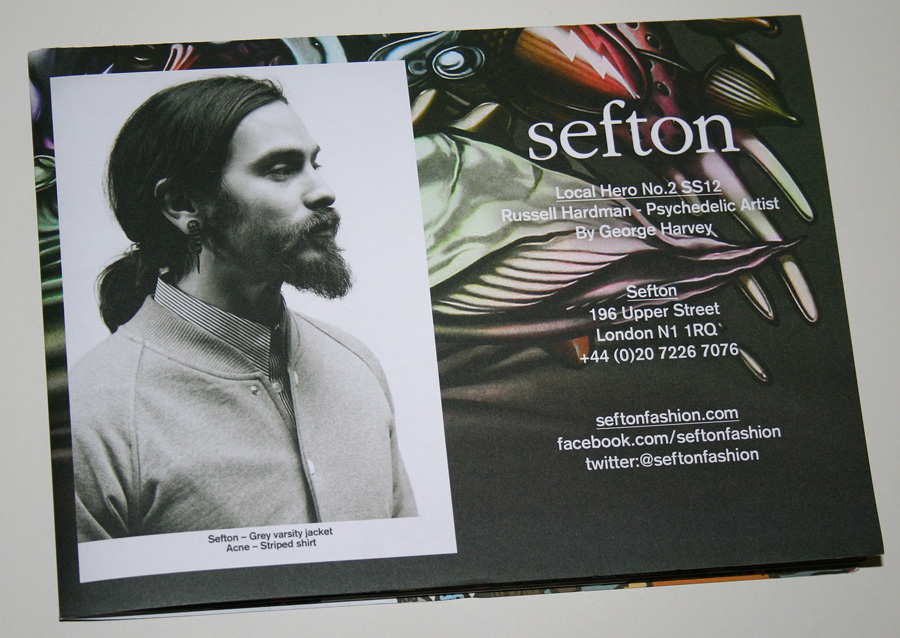 sefton look book SS12