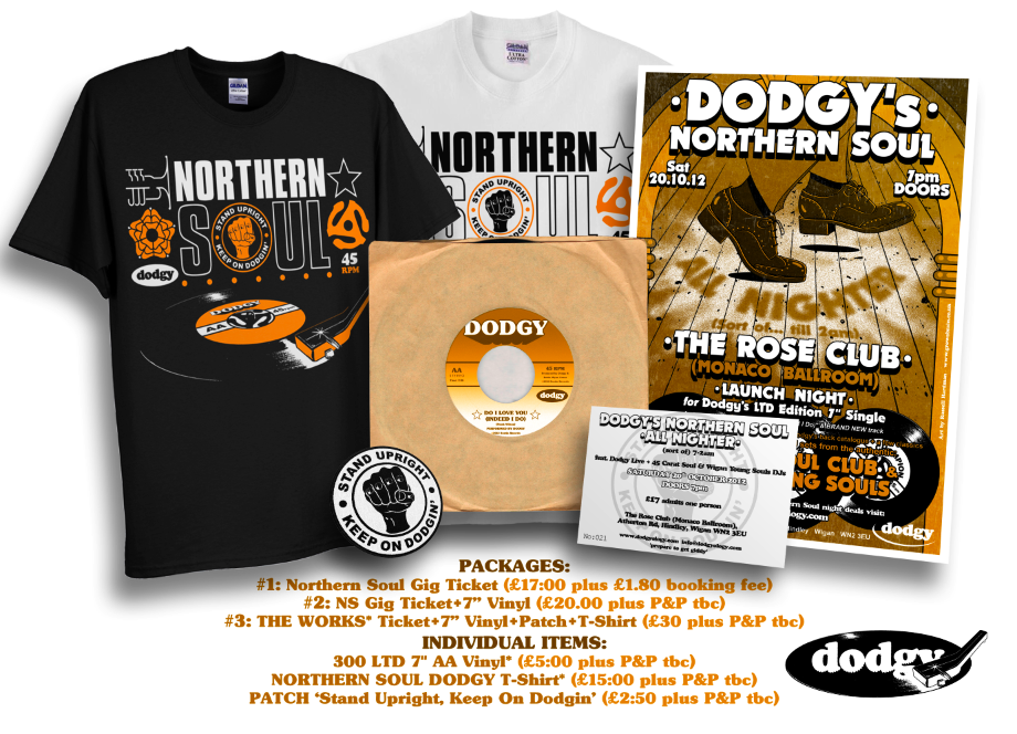 Dodgy's Northern Soul Packages