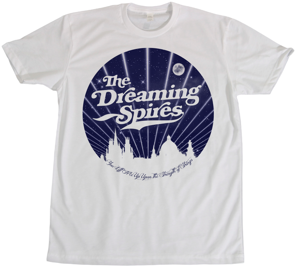 The Dreaming Spires tee design